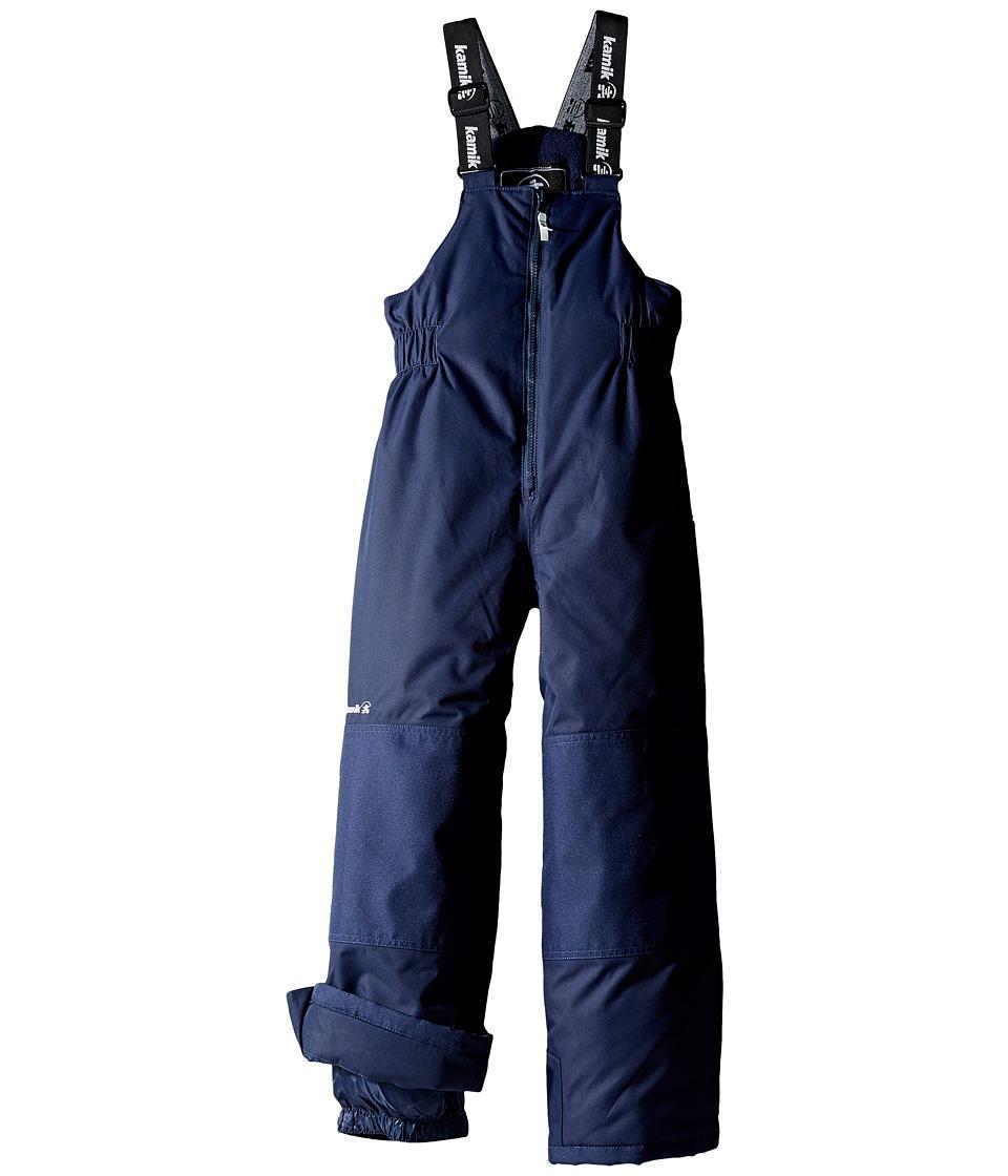 Kamik Kids - Winkie Solid Pants (Infant/Toddler/Little Kids/Big Kids) (Peacoat) Boy's Snow Bibs One Piece