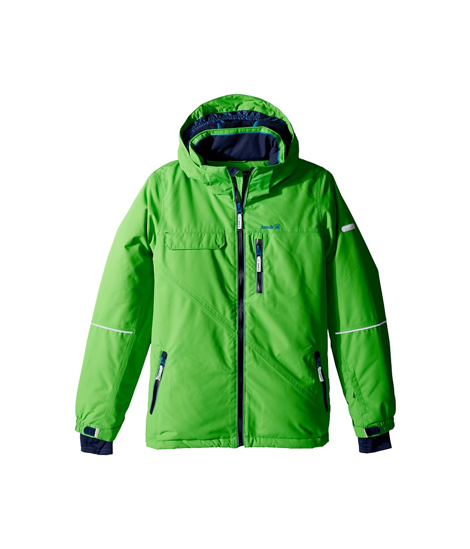 Kamik Kids - Rufus Solid Jacket (Little Kids/Big Kids) (Classic Green) Boy's Coat