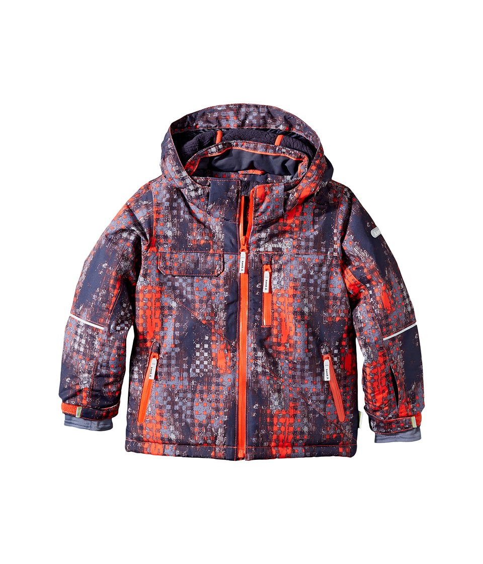 Kamik Kids - Rufus Madd Maze Jacket (Infant/Toddler/Little Kids) (Grenadine) Boy's Coat