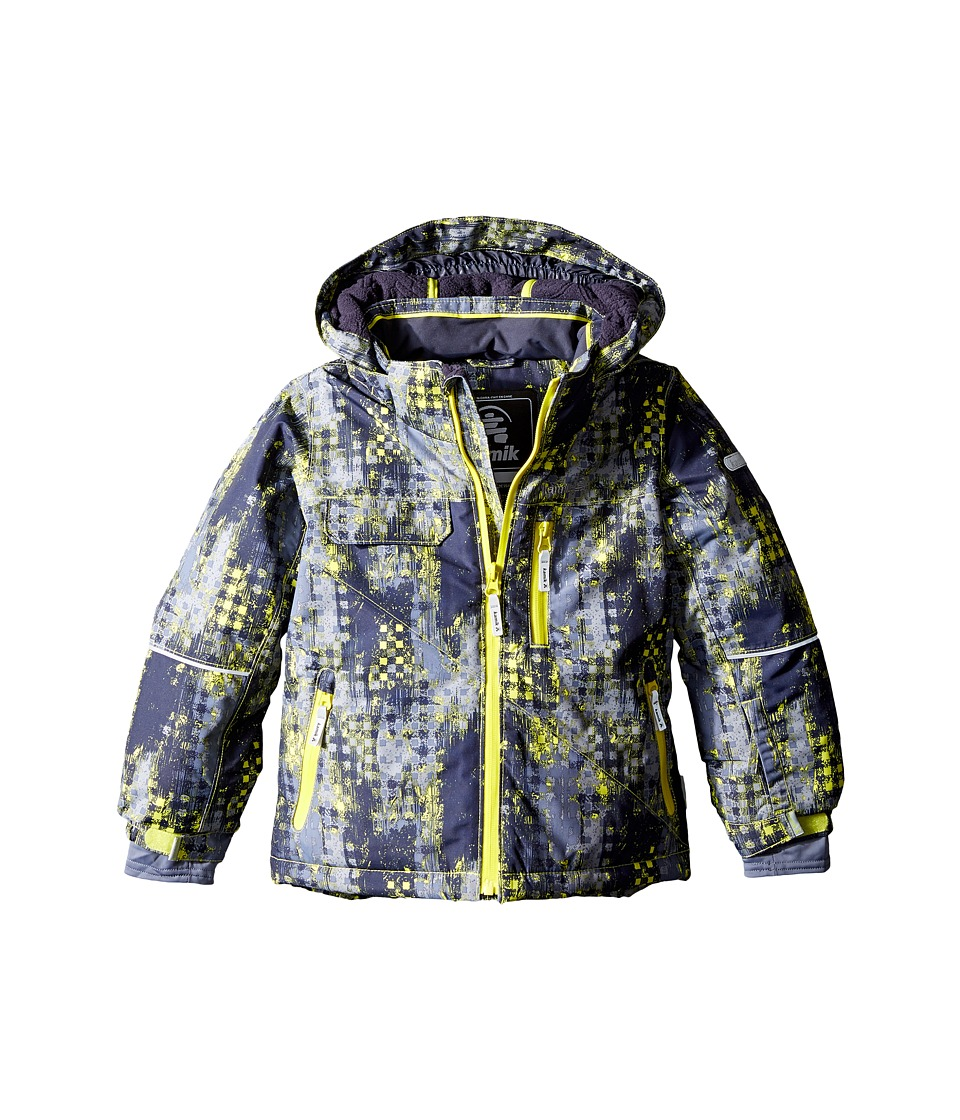 Kamik Kids - Rufus Madd Maze Jacket (Infant/Toddler/Little Kids) (Sulphur Spring) Boy's Coat