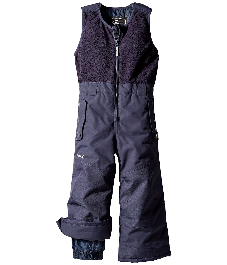 Kamik Kids - Winter Solid Pants (Infant/Toddler) (Graphite) Boy's Snow Bibs One Piece