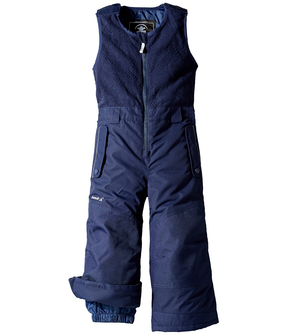 Kamik Kids - Winter Solid Pants (Infant/Toddler) (Peacoat) Boy's Snow Bibs One Piece