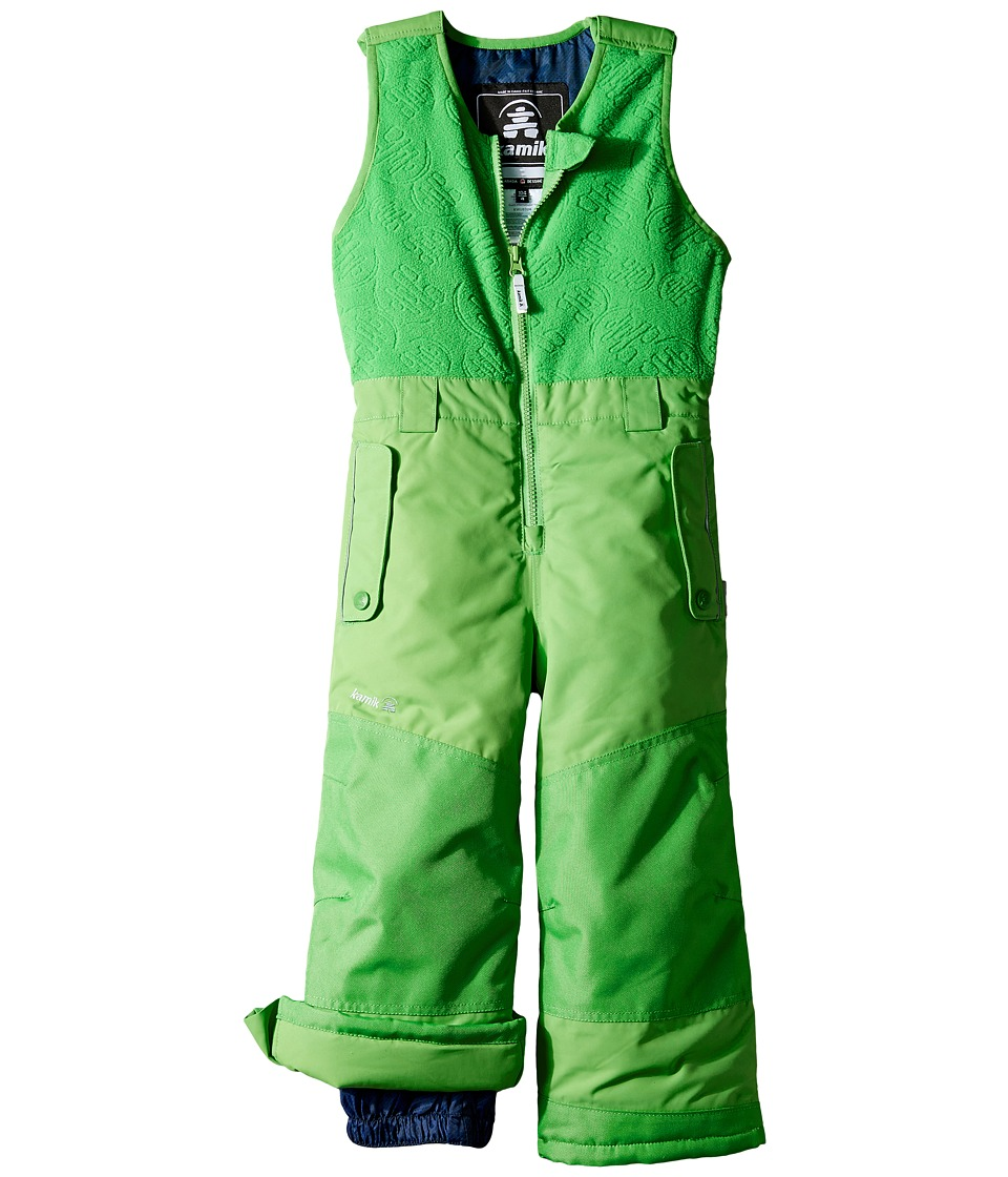 Kamik Kids - Winter Solid Pants (Infant/Toddler) (Classic Green) Boy's Snow Bibs One Piece