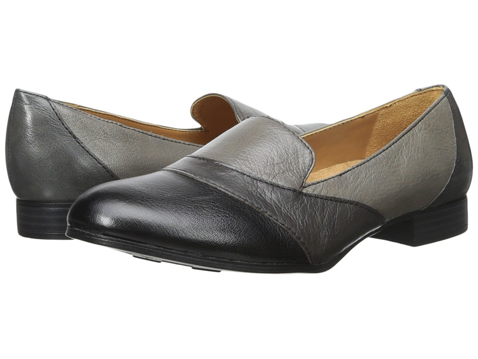 Naturalizer Coretta (Grey/Black Leather) Women