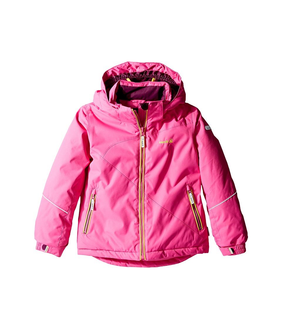 Kamik Kids - Aria Solid Jacket (Infant/Toddler/Little Kids) (Violet Pink) Girl's Coat