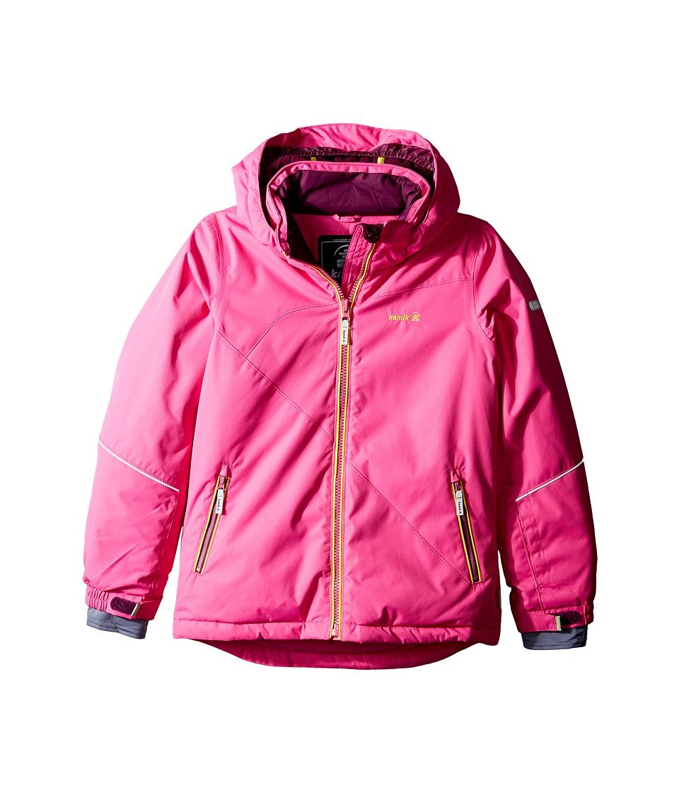 Kamik Kids - Aria Solid Jacket (Little Kids/Big Kids) (Violet Pink) Girl's Coat