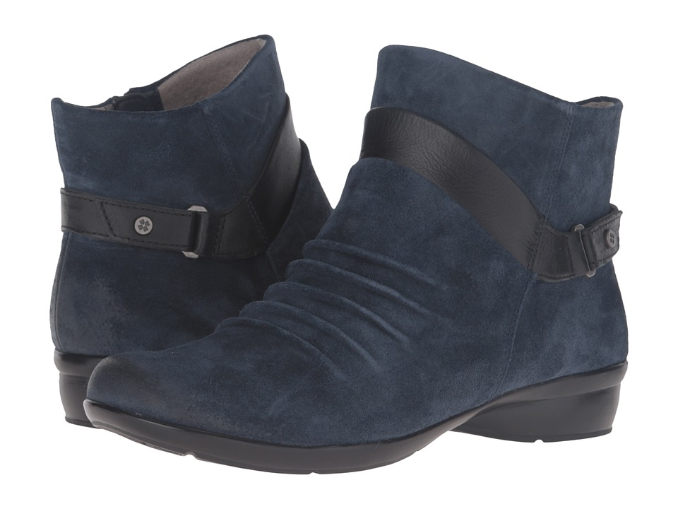 Naturalizer - Caldo (Classic Navy Suede/Black Leather) Women's Shoes
