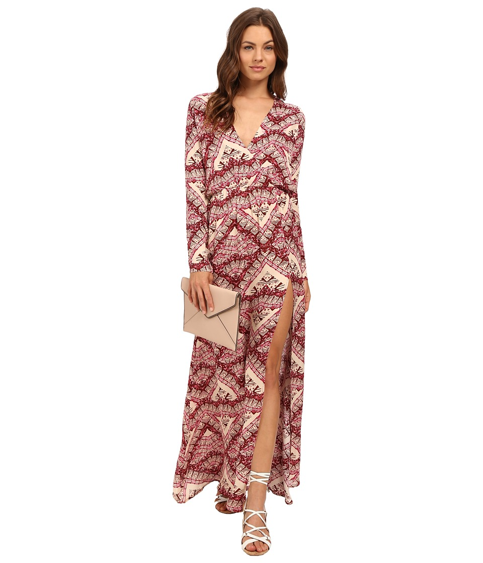 Stone Cold Fox - Birch Gown (Isabel Print) Women's Dress