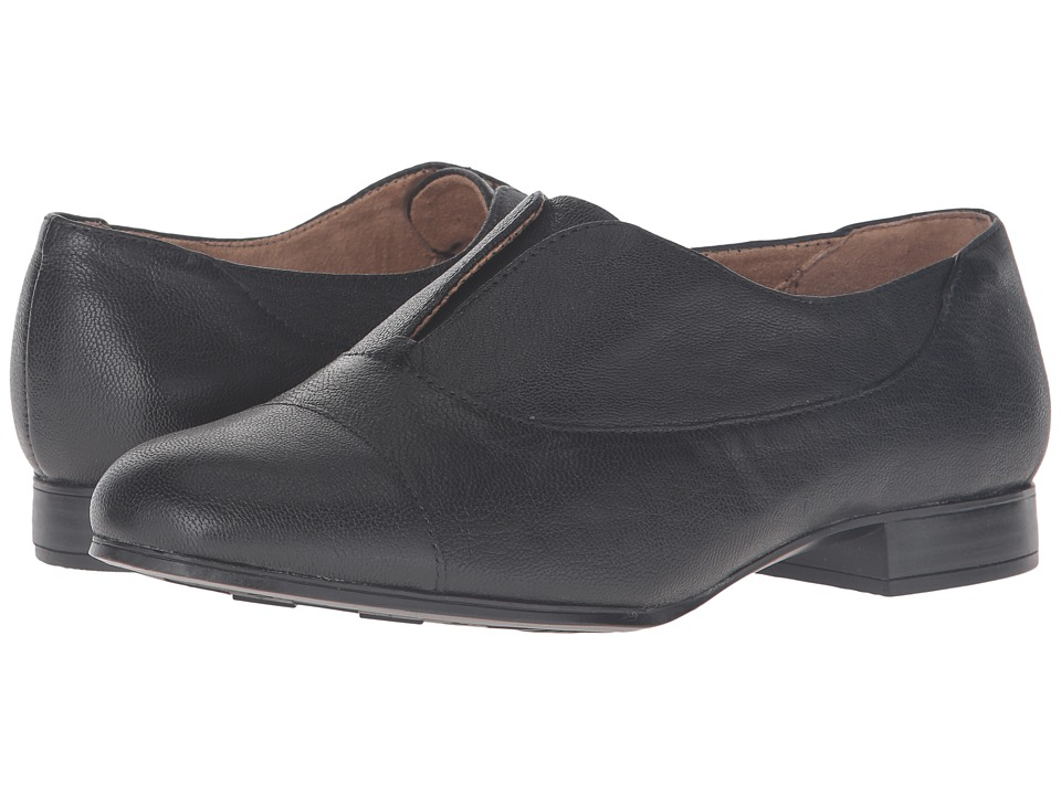 Naturalizer - Carabell (Black Leather) Women's Shoes