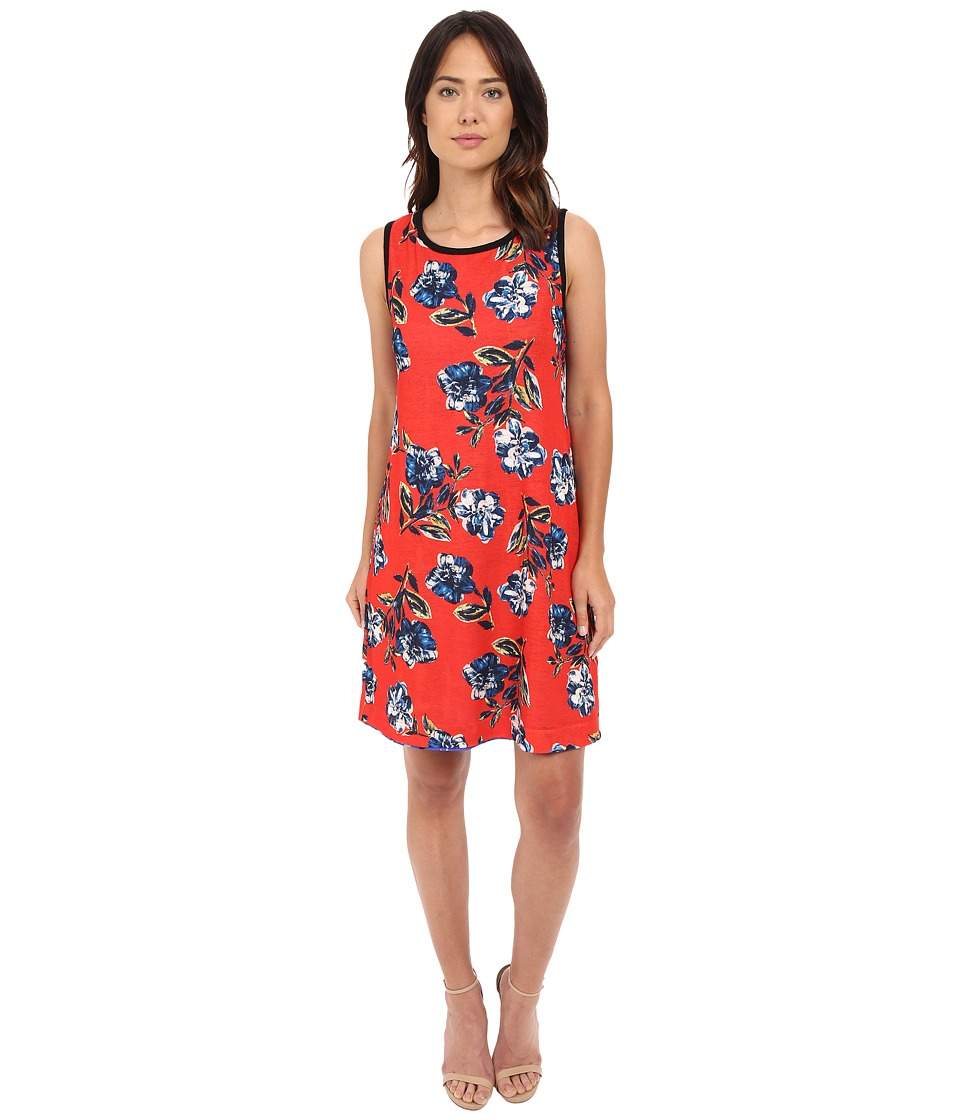 Nally & Millie - Reversible Printed Dress (Multi) Women's Dress