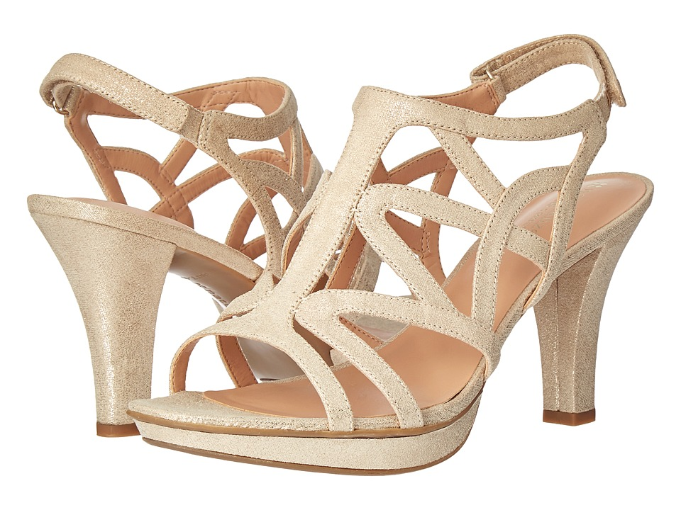 Naturalizer Danya (Taupe/Gold Metallic) Women