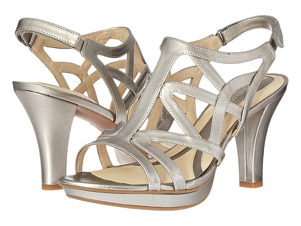 Naturalizer - Danya (Pewter Pearlized) Women's Sandals