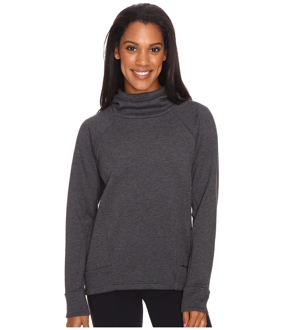 Lucy - Lucy Lux Fleece Pullover (Lucy Black Heather) Women's Long Sleeve Pullover