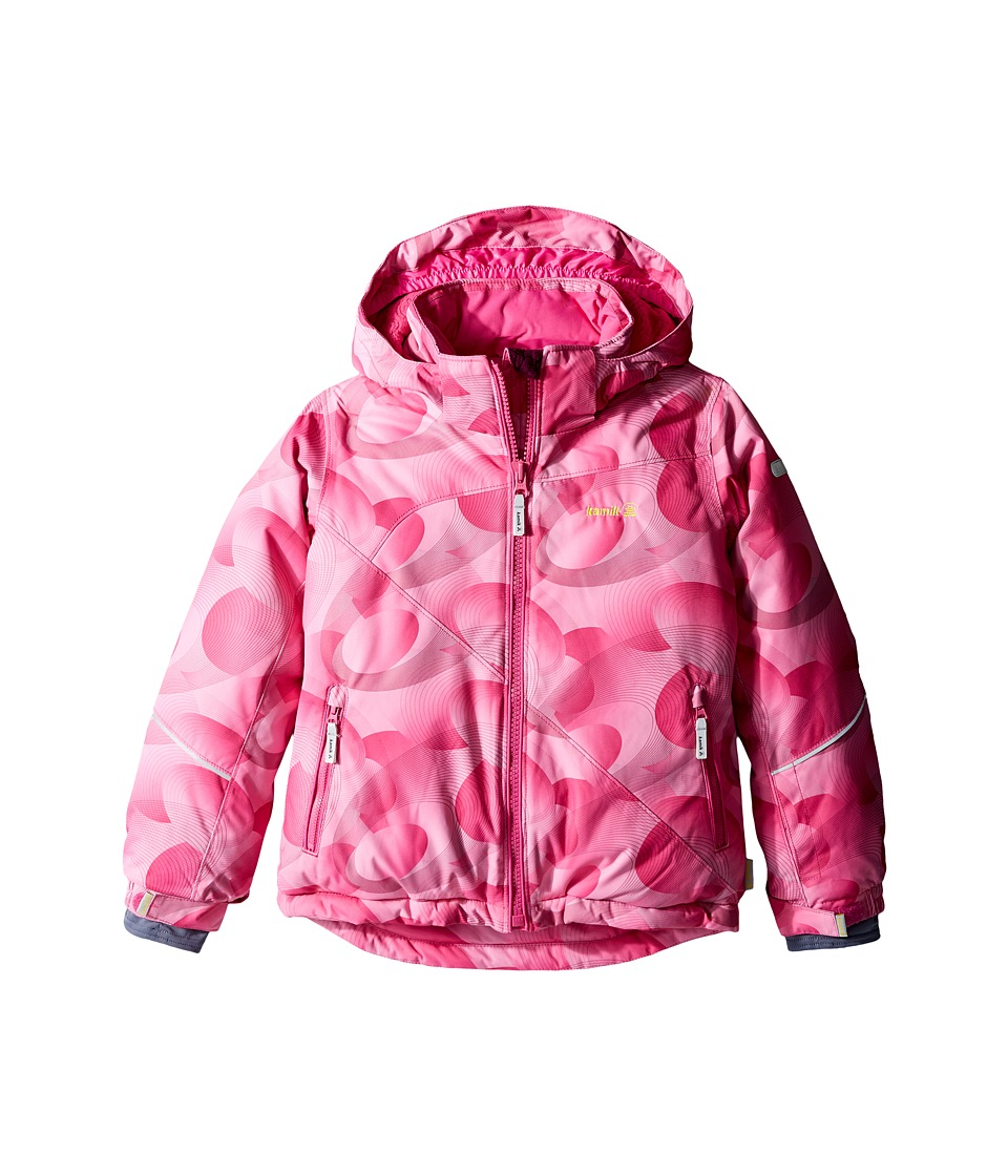 Kamik Kids - Aria Spiral Blitz Jacket (Infant/Toddler/Little Kids) (Violet Pink) Girl's Coat