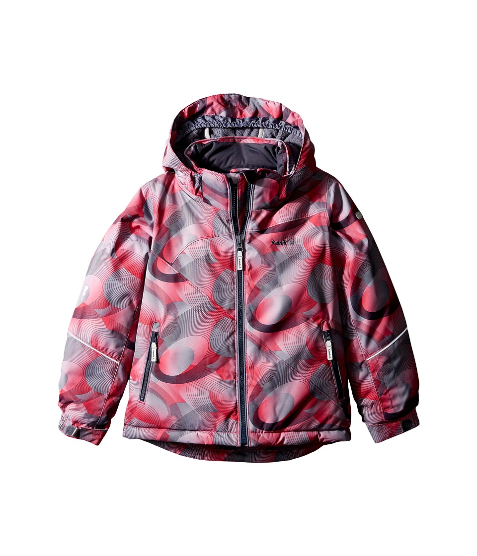 Kamik Kids - Aria Spiral Blitz Jacket (Infant/Toddler/Little Kids) (Cerise) Girl's Coat