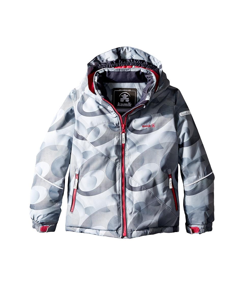 Kamik Kids - Aria Spiral Blitz Jacket (Infant/Toddler/Little Kids) (Folkstone) Girl's Coat
