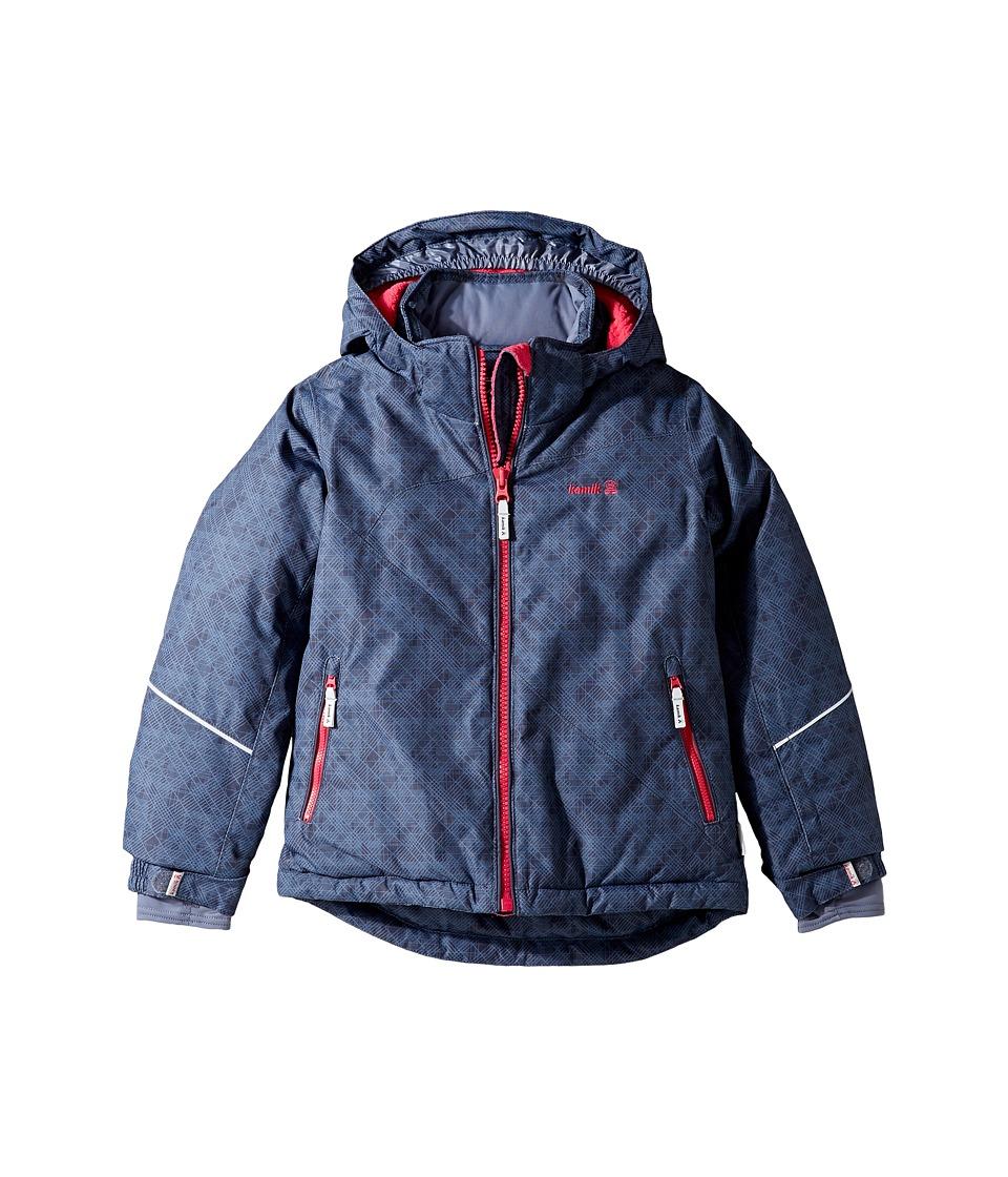 Kamik Kids - Aria Crash Stix Jacket (Infant/Toddler/Little Kids) (Graphite) Girl's Coat