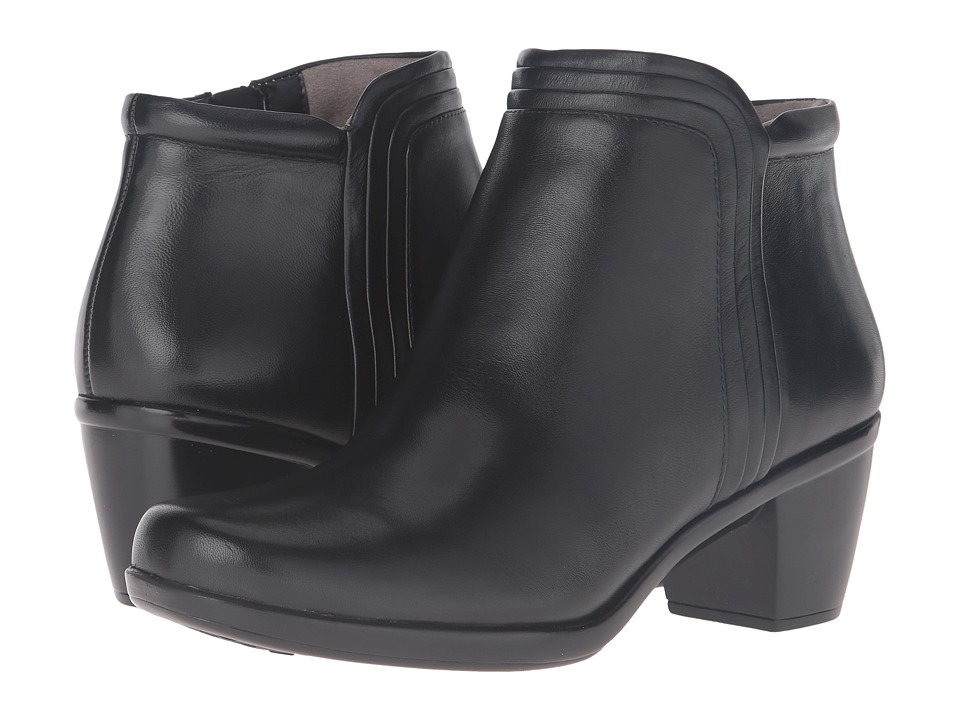Naturalizer Elisabeth (Black Leather) Women