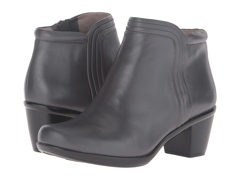 Naturalizer - Elisabeth (Graphite Lead Leather) Women's 1-2 inch heel Shoes