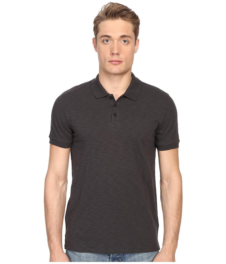 Vince - Short Sleeve Slub Polo Shirt (Sphere) Men's Short Sleeve Knit