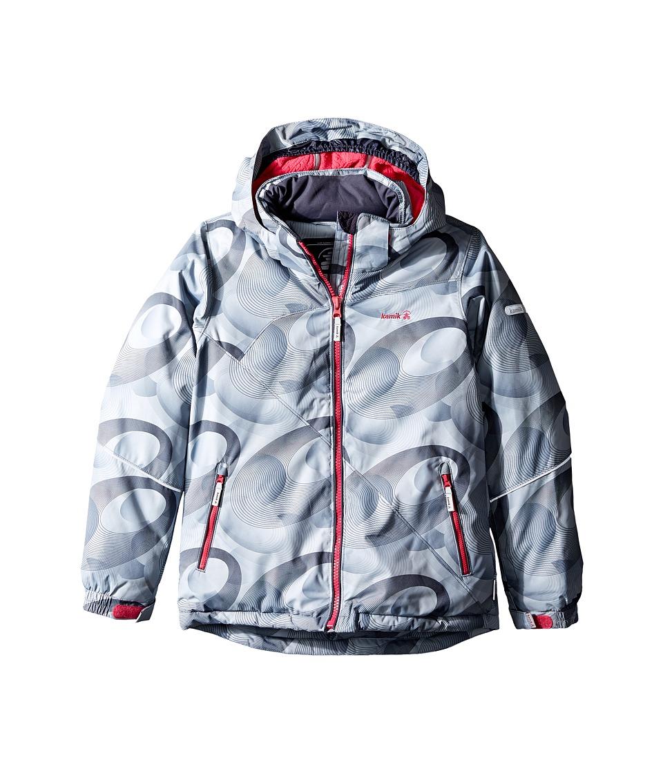 Kamik Kids - Aria Spiral Blitz Jacket (Little Kids/Big Kids) (Folkstone) Girl's Coat