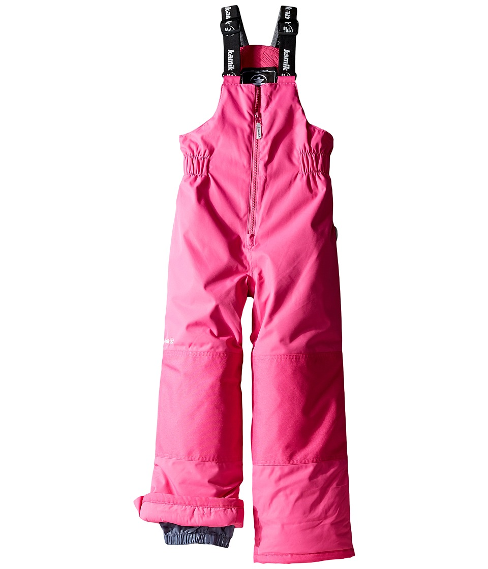 Kamik Kids - Winkie Solid Pants (Toddler/Little Kids/Big Kids) (Violet Pink) Girl's Snow Bibs One Piece