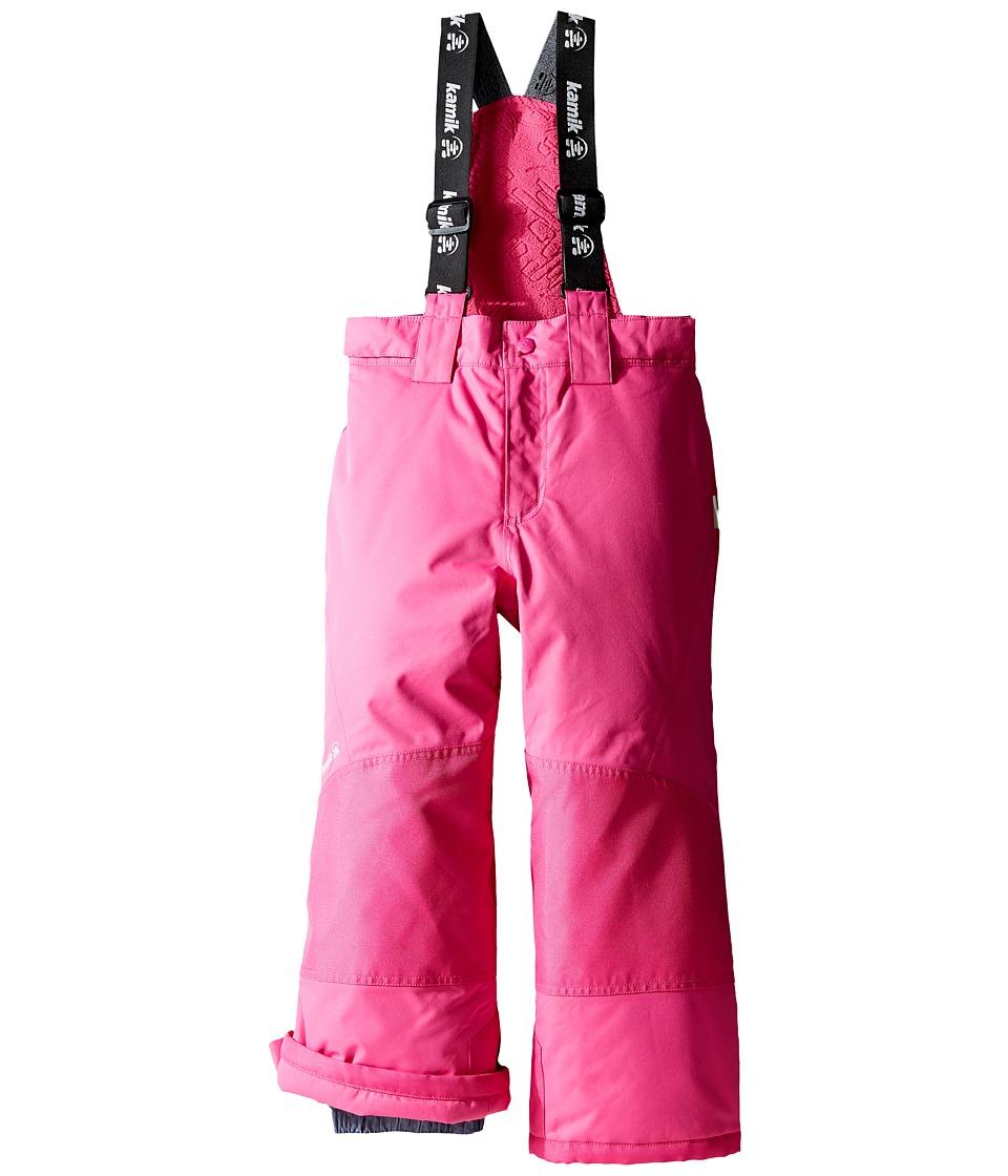 Kamik Kids - Harper Solid (Toddler/Little Kids) (Violet Pink) Girl's Outerwear