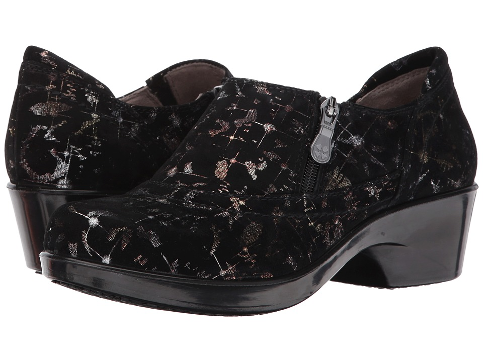 Naturalizer - Florence (Black/Gold Celestial Printed Leather) Women's Shoes
