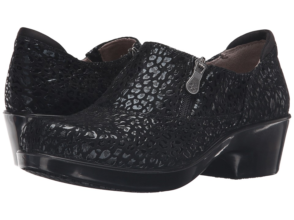 Naturalizer - Florence (Black Cheetah Leather) Women's Shoes