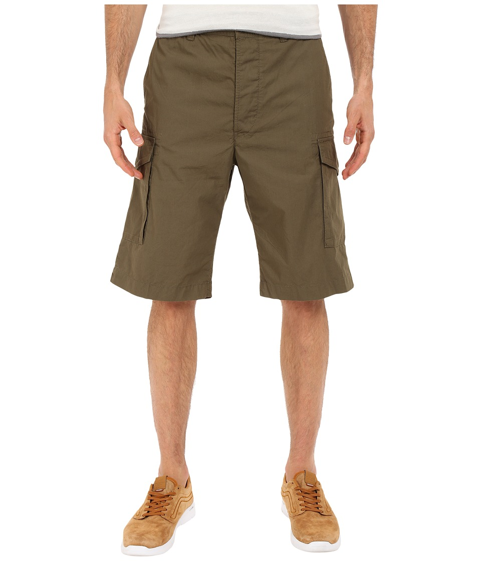 Diesel - P-Cooper Shorts (Military/Green) Men's Shorts