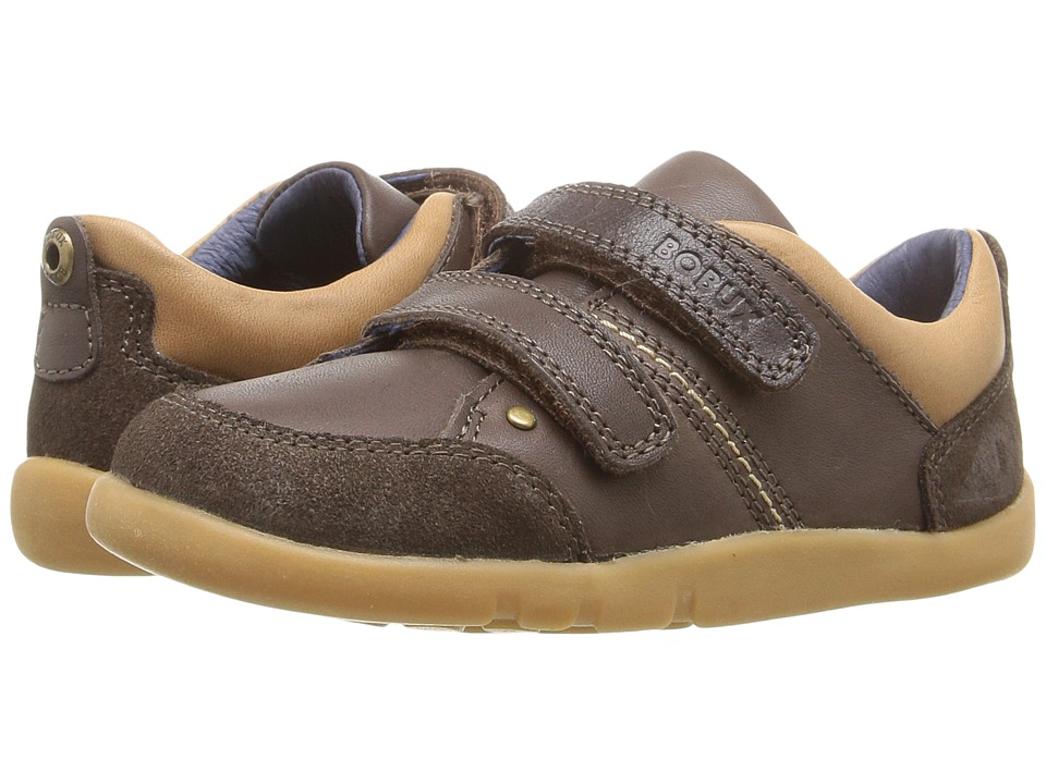 Bobux Kids - I-Walk Switch (Toddler/Little Kid) (Espresso Brown) Boy's Shoes