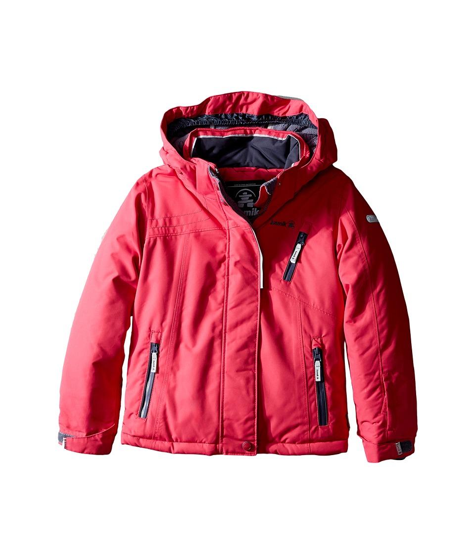 Kamik Kids - Avalon Solid Jacket (Infant/Toddler/Little Kids) (Cerise) Girl's Coat