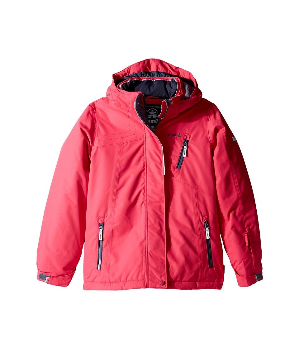 Kamik Kids - Avalon Solid Jacket (Little Kids/Big Kids) (Cerise) Girl's Coat