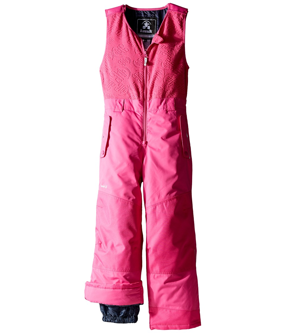 Kamik Kids - Winter Solid Pants (Toddler/Little Kids) (Violet Pink) Girl's Snow Bibs One Piece