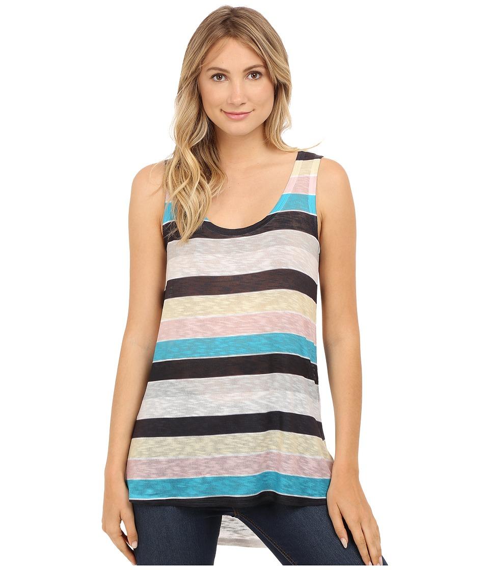 Nally & Millie - Stripe Print Tank Top (Multi) Women's Sleeveless