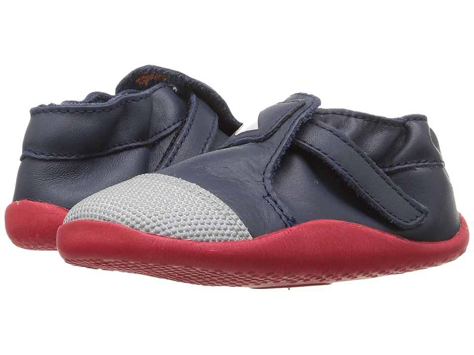 Bobux Kids - Play Xplorer Origin (Infant/Toddler) (Navy/Red/White) Boy's Shoes