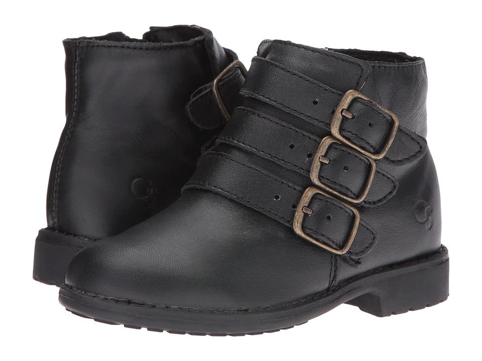 Old Soles - Buckle Up (Toddler/Little Kid) (Black) Girls Shoes