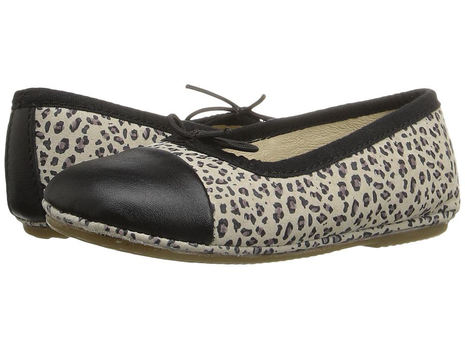 Old Soles Electric Flat (Toddler/Little Kid) (Cat/Black/Black) Girls Shoes