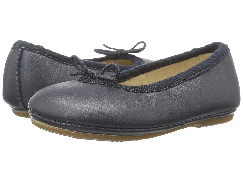 Old Soles - Cruise Ballet Flat (Toddler/Little Kid) (Navy) Girls Shoes