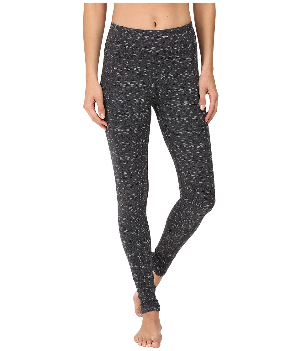 Lucy - Power Train Pocket Leggings (Lucy Black Twilight Spacedye) Women's Workout
