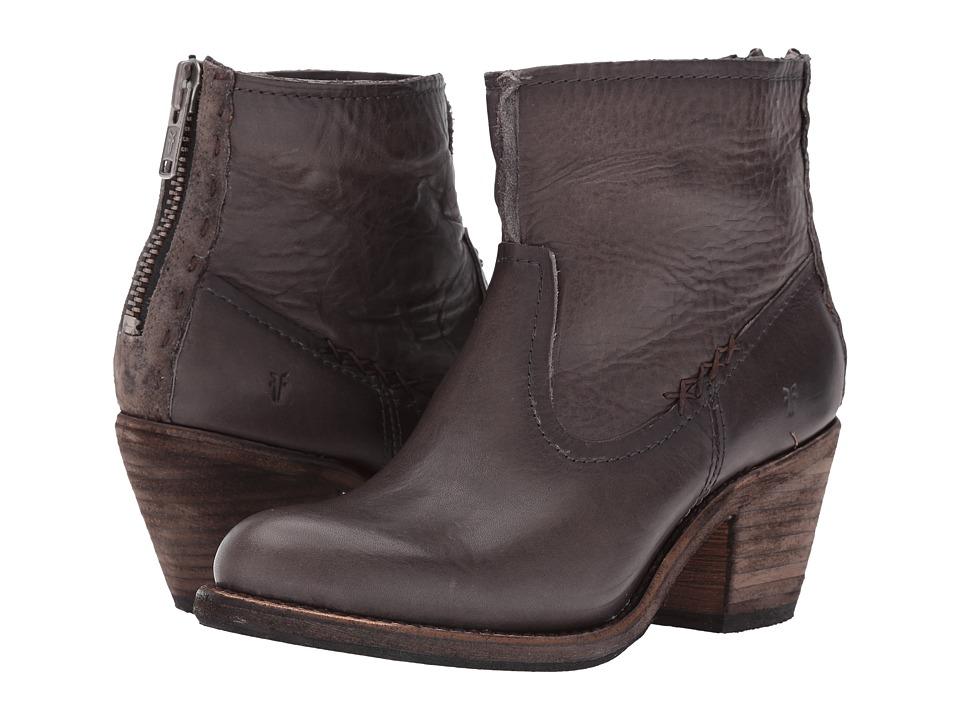 Frye Leslie Artisan Short (Smoke Washed Oiled Vintage) Cowboy Boots