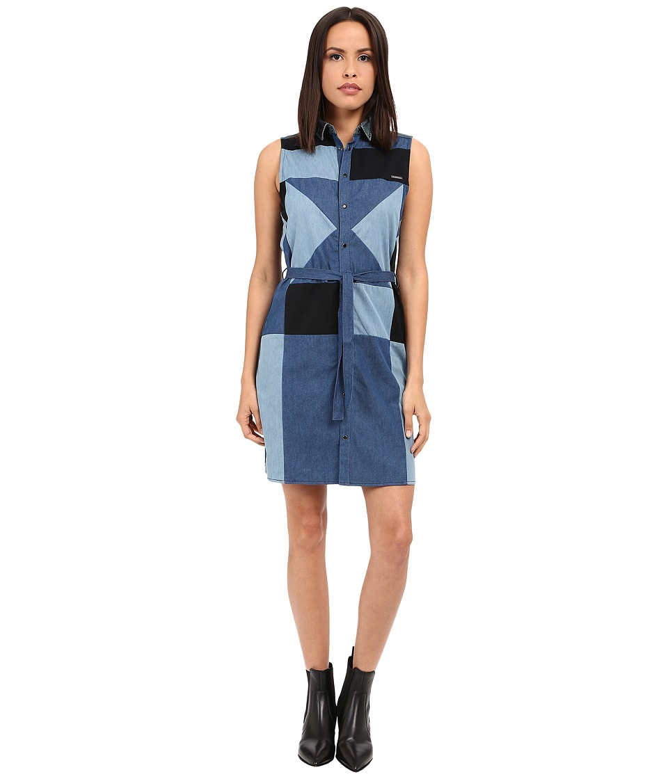 Diesel - De-Day Dress (Blue) Women's Dress