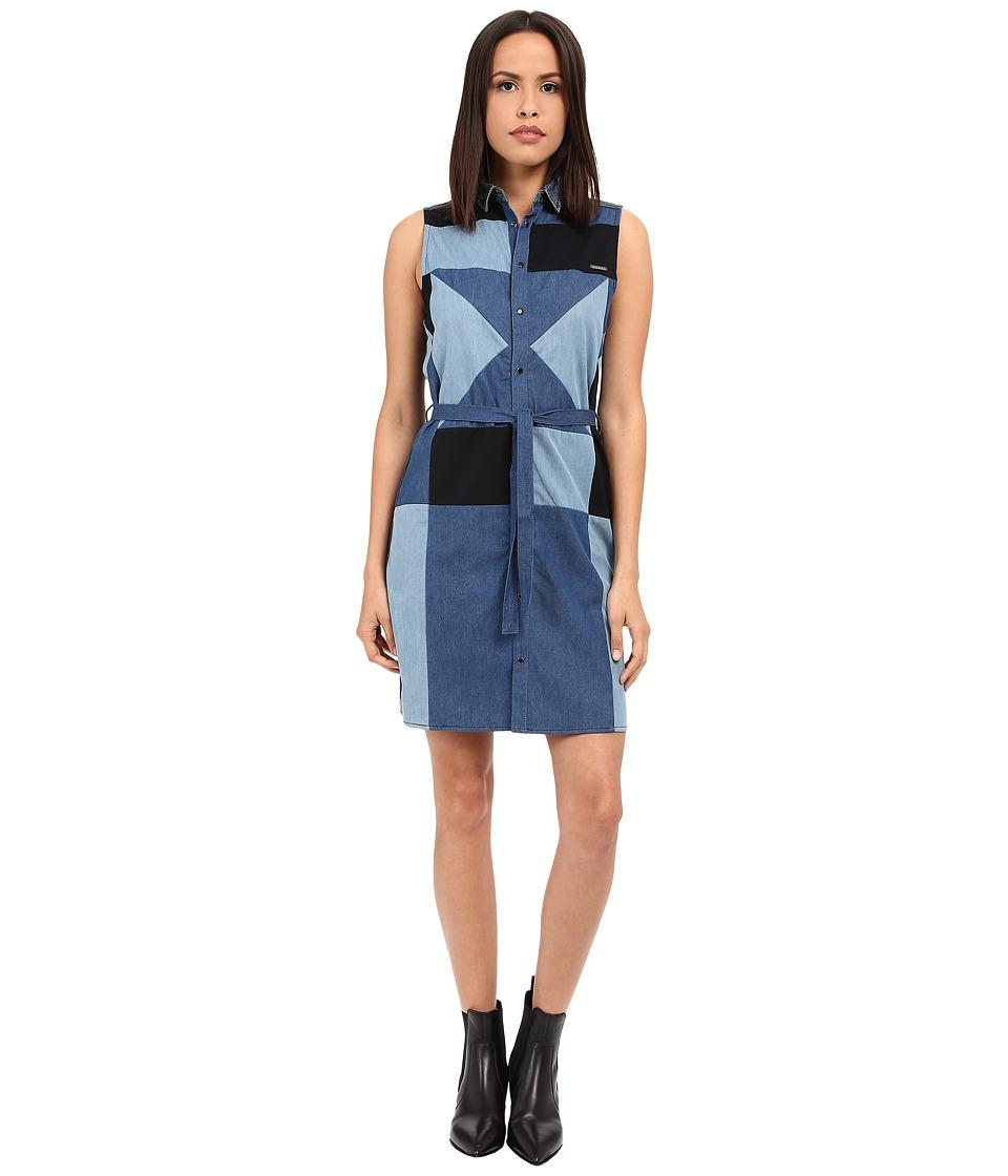 Diesel - De-Day Dress (Blue) Women's Dress