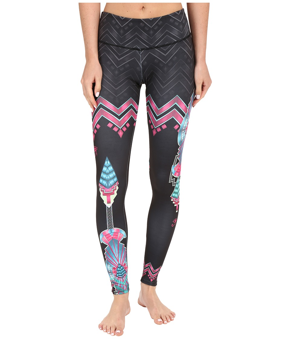 Onzie - Ciaro Graphic Leggings (Ciaro) Women's Casual Pants
