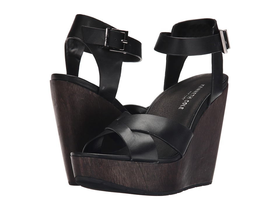 Kenneth Cole New York - Clove (Black) Women's Wedge Shoes