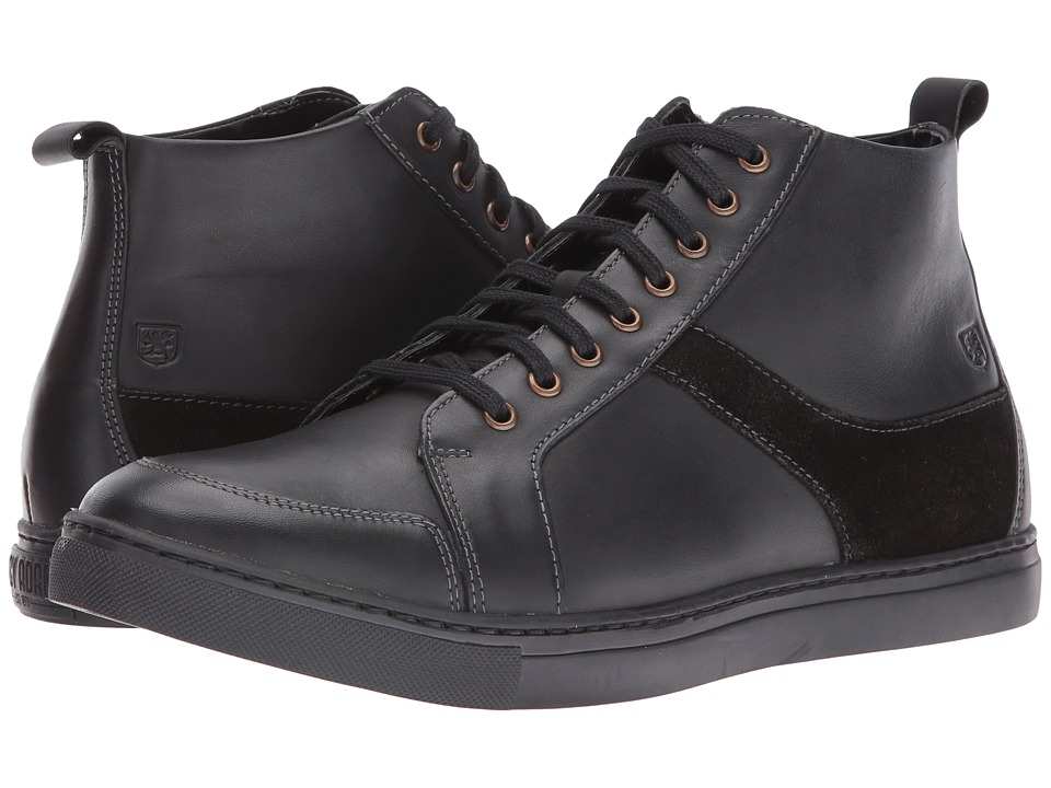Stacy Adams - Winchell Moc Toe Lace Boot (Black) Men's Lace-up Boots