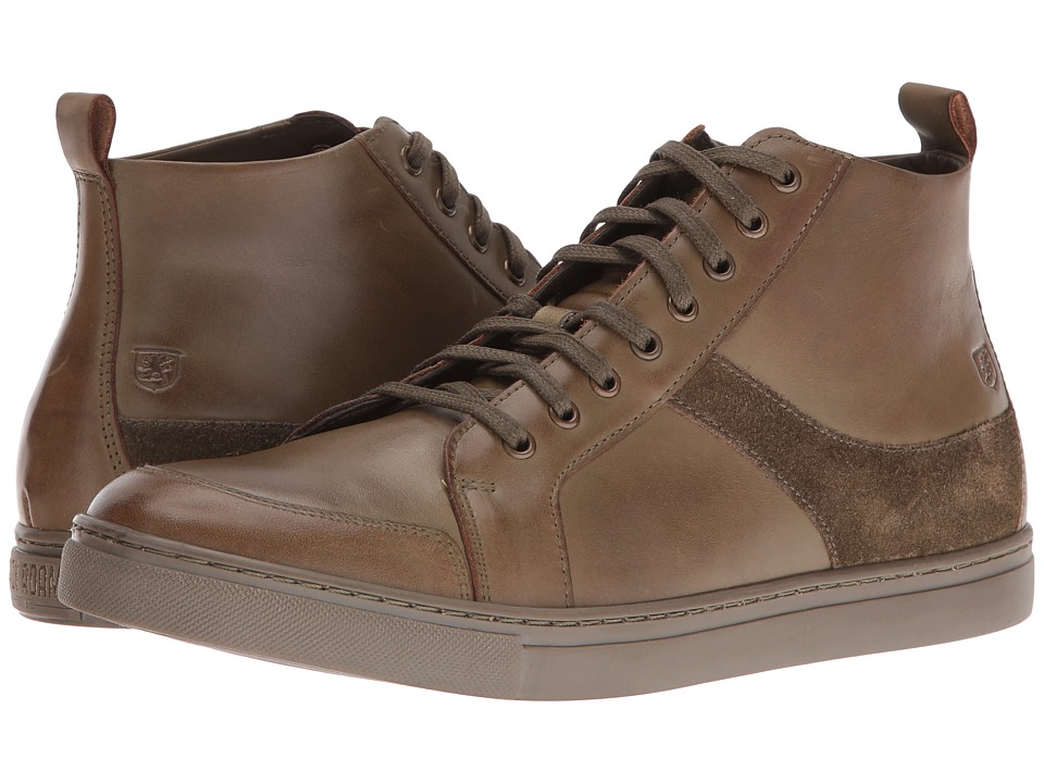 Stacy Adams - Winchell Moc Toe Lace Boot (Olive) Men's Lace-up Boots
