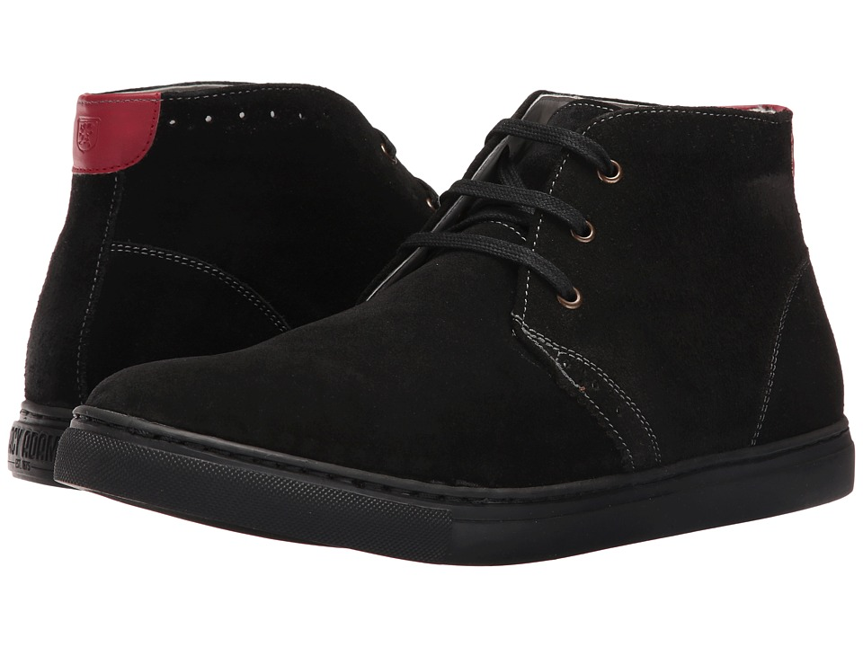 Stacy Adams Wyler Chukka Boot (Black Suede) Men