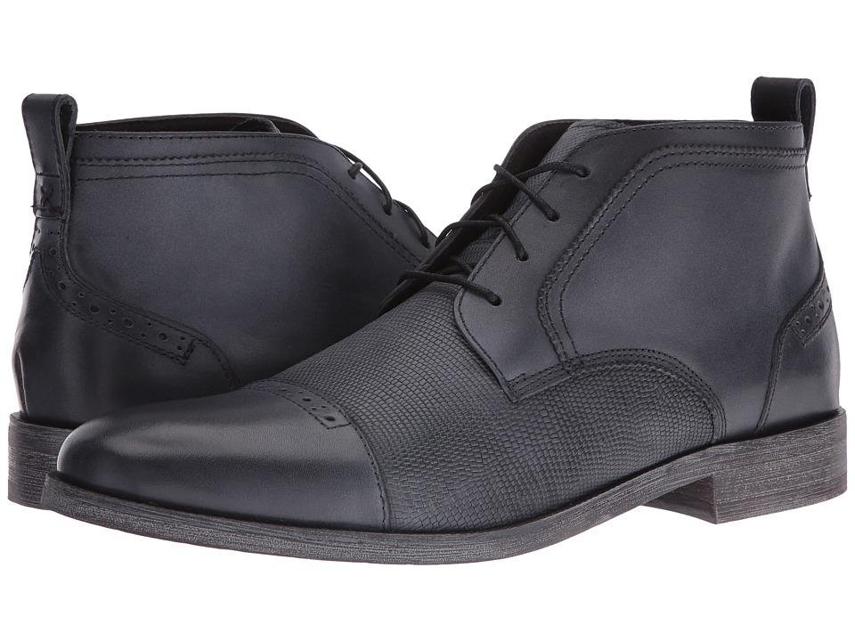 Stacy Adams - Burgess Cap Toe Chukka Boot (Black) Men's Boots