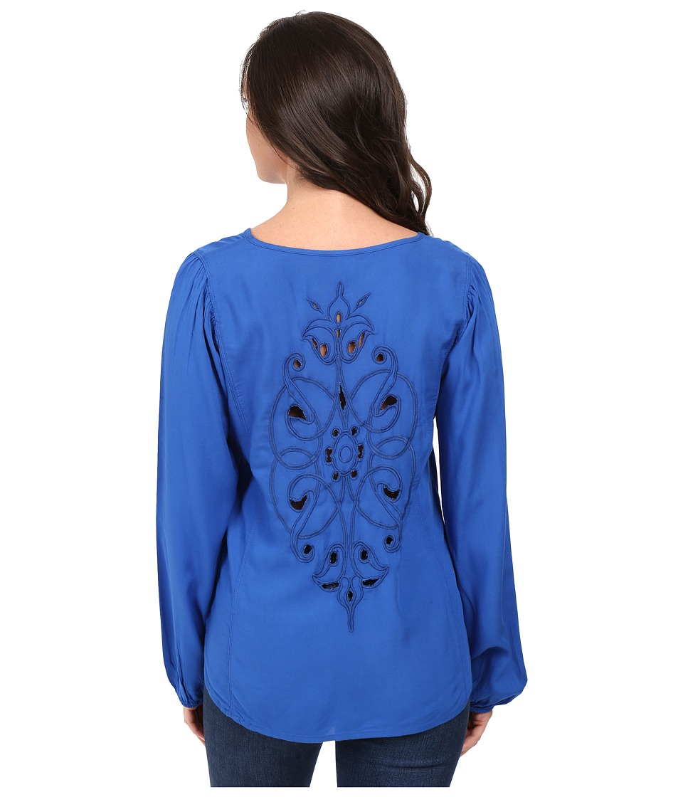 Ariat - Kori Top (Olympian Blue) Women's Long Sleeve Pullover